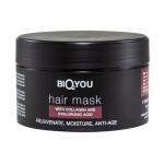 BIO2YOU HairPro regeneracyjna maska nawilżająca do włosów z kolagenem i kwasem hialuronowym 200 ml