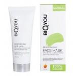 BIO2YOU maska intensywnie nawilżająca z kwasami AHA, kwasem hialuronowym i rokitnikiem 75 ml