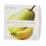 Deser owocowy gruszka - banan BIO 200g Clearspring