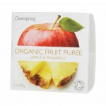 Deser owocowy jabłko - ananas BIO 200g Clearspring