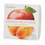 Deser owocowy jabłko - morela BIO 200g Clearspring