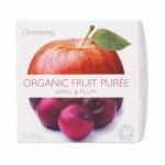 Deser owocowy jabłko - śliwka BIO 200g Clearspring
