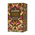 Pukka Licorice & Cinnamon BIO 20 saszetek