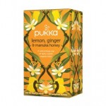 Pukka Lemon,Ginger & Manuka Honey BIO 20 saszetek