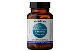 Multiwitamina z minerałami (High Five Multivit & Mineral Formula) 30 kapsułek Viridian