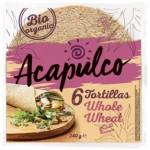 Tortilla z otrębami pszennymi BIO 240g (6 sztuk) Acapulco