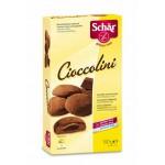 Cioccolini - herbatniki z nadzieniem kakaowym bezglutenowe 150g Schär