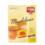 Magdalenas - babeczki z nadzieniem morelowym bezglutenowe 200g Schär