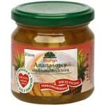 Dżem ananasowy słodzony fruktozą 195g Biofan