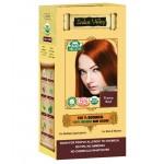 Ziołowa farba do włosów z henną, Płomienny rudy 120g Indus Valley