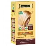 Ziołowa farba do włosów z henną, Złocisty Blond 120g Indus Valley