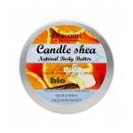 Świeczka - balsam z masłem shea, pomarańczą i wanilią 150g Nacomi