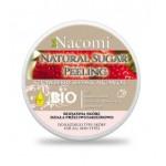 Naturalny peeling do ciała z masłem shea, nasionami truskawkami i olejem arganowym 200ml Nacomi