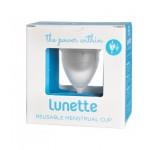 Kubeczek menstruacyjny + woreczek Model 1 Przezroczysty Lunette