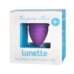 Kubeczek menstruacyjny + woreczek Model 1 Fioletowy Lunette