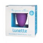 Kubeczek menstruacyjny + woreczek Model 2 Fioletowy Lunette