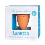 Kubeczek Kubeczek menstruacyjny + woreczek Model 2 Pomarańczowy Lunette+ woreczek Model 1 Pomarańczowy Lunette