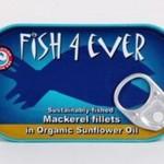Makrela w ekologicznym oleju słonecznikowym ze zrównoważonych połowów 120g Fish4ever