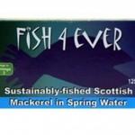 Makrela w sosie własnym ze zrównoważonych połowów 125g Fish4ever