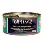 Tuńczyk w kawałkach w solance ze zrównoważonych połowów 160g Fish4ever