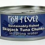 Tuńczyk w kawałkach w sosie własnym ze zrównoważonych połowów 160g 160g Fish4ever