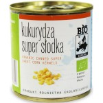 KUKURYDZA SUPER SŁODKA KONSERWOWA BIO 160 g (140 g) - BIO EUROPA